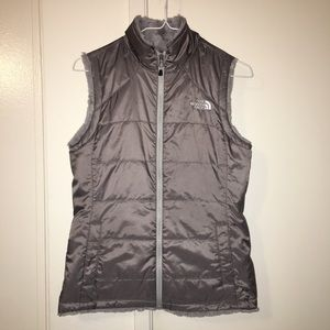 The North Face reversible vest size xs
